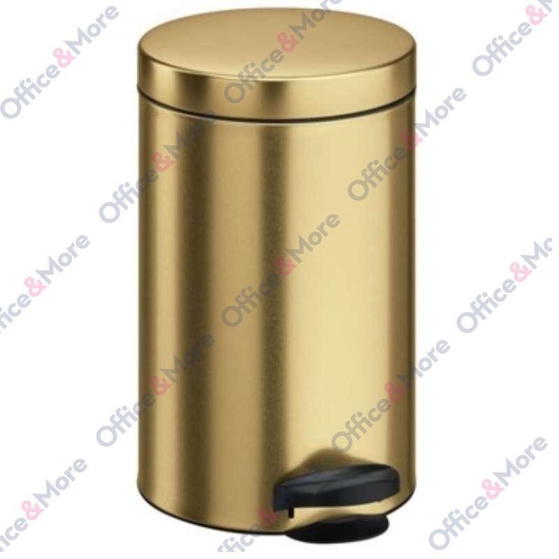 Kanta za smeće čelična 14 l zlatna - 270033