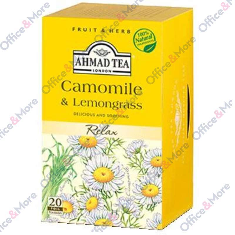 AHMAD TEA Chamomile & Lemongrass 20/1