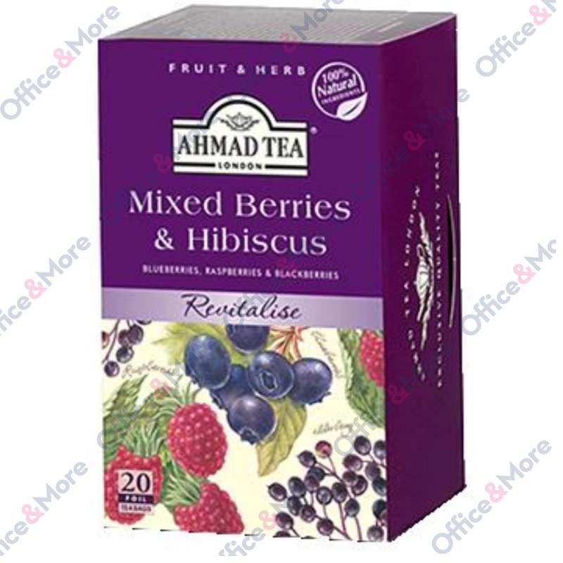 AHMAD TEA Mixed Berries & Hibiscus 20/1