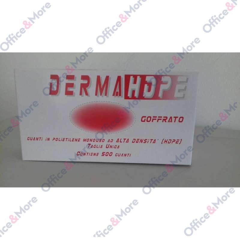 Rukavice DERMAHDPE PE 500/1 polietilen - 40014