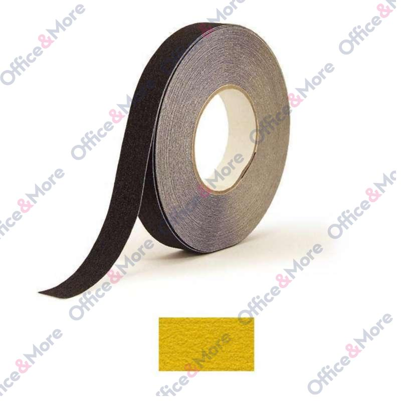ANTIKLIZNA TRAKA 25mm/18,3m žuta H3402Z COARSE SAF