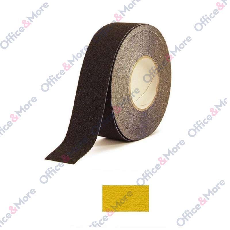ANTIKLIZNA TRAKA 50mm/18,3m žuta H3402Z COARSE SAF