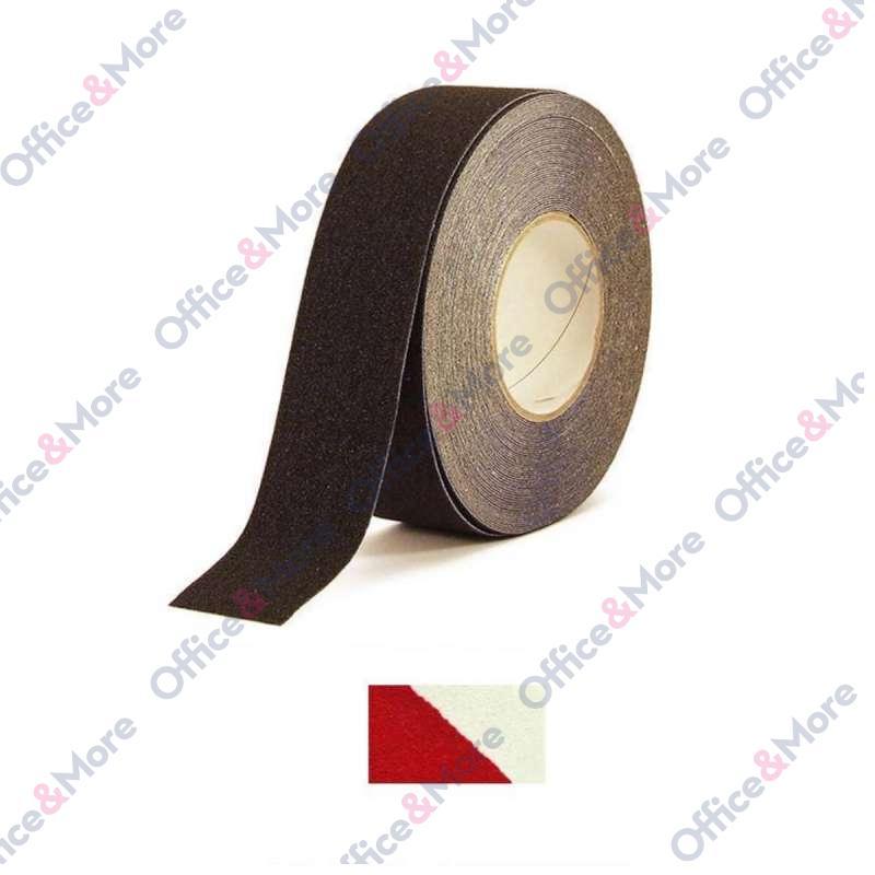 ANTIKLIZNA TRAKA 50mm/18,3m crveno/bela H3402 COAR