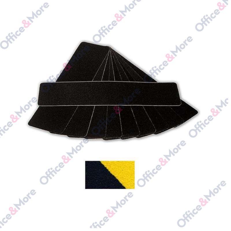 ANTIKLIZNA TRAKA 150mmx610mm crno/žuta CONFORMABLE