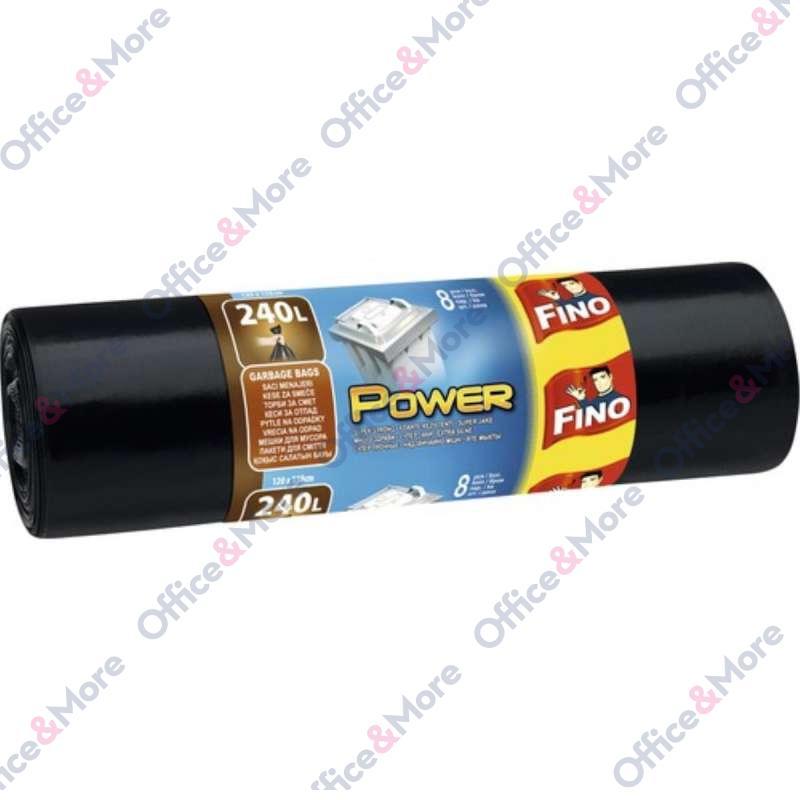 FINO Kese za smeće 240lit.LD power 8/1 kod-1004513