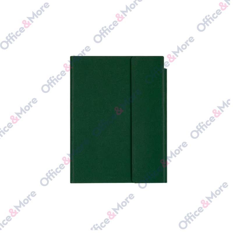 AGENDA VELVET A5 BOTTLE GREEN 116.846.45